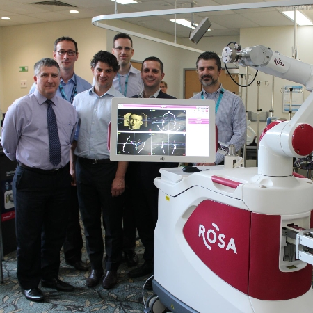 Mater neurosurgeons partner with ROSA the robot in an Australian first