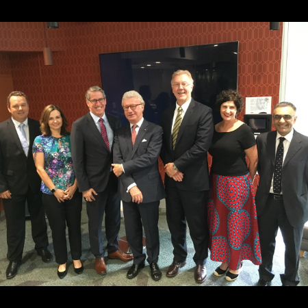 Governor of Queensland visits Mater