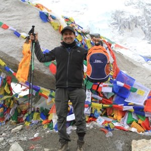 Orthopaedic Surgeon Dr Joshi tackles Mt Everest